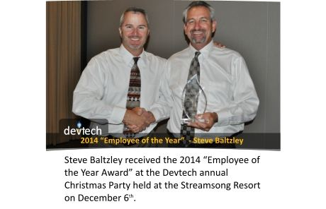 Devtech Employee of the Year